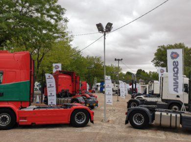 Scania participa en la tercera edición de la Feria Nacional de Vehículos Industriales de Ocasión en Manzanares