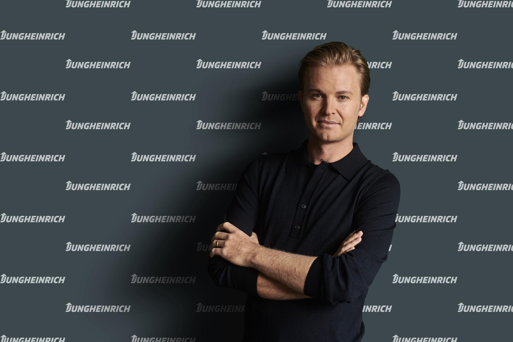 Nico Rosberg, embajador de marca de Jungheinrich