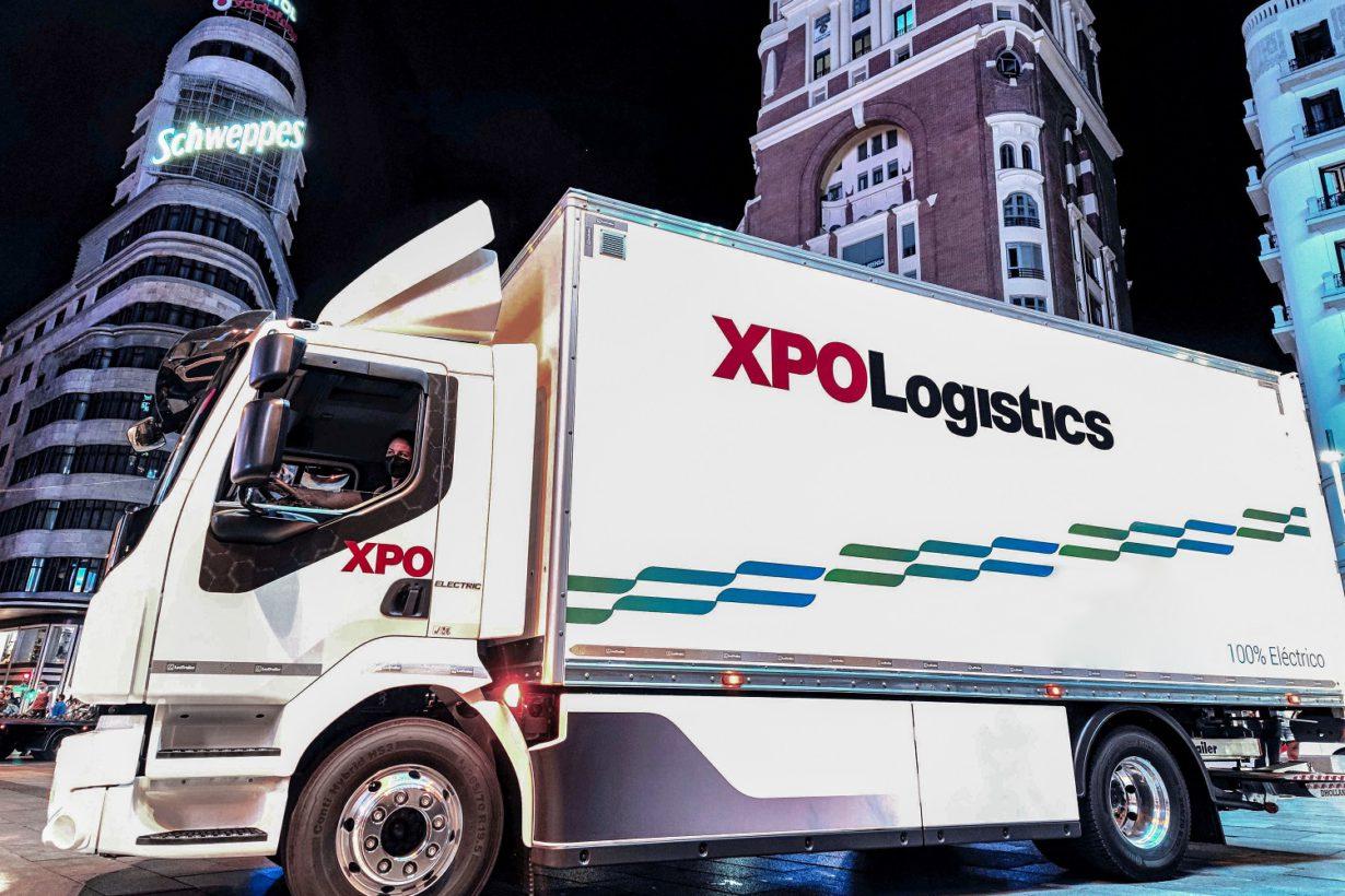 XPO Logistics pone en circulación su primer camión 100% eléctrico en España, de la mano de Volvo Trucks